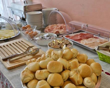 Breakfast at Best Western Hotel San Giusto Trieste 3 star